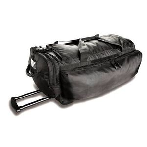 "Uncle Mike's Law Enforcement Side-Armor Roll Out Black Bag 29""x13x13 Main Compartment 53451"