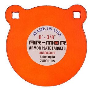 "AR-Mor 6"" AR500 Steel Gong Target 1/2"" Orange"