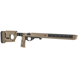 Magpul Pro 700L Fixed Stock for Remington 700 Long Action Ambidextrous AICS Pattern Magazines FDE