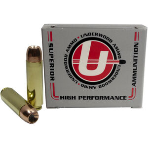 Underwood Ammo .50 Beowulf Ammunition 20 Rounds 300 Grain Bonded Core JHP 1950fps