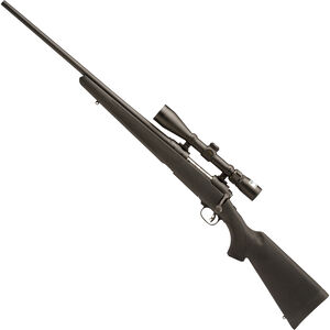 "Savage 111 Trophy Hunter XP Left Hand Bolt Action Rifle .300 Win Mag 24"" Barrel 3 Rounds Synthetic Stock Black Finish Nikon 3-9x40 Scope 19707"