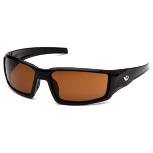 Pyramex Safety Products Pagosa Eye Protection Safety Glasses with Bronze Lenses and Black Frames VGSB518T