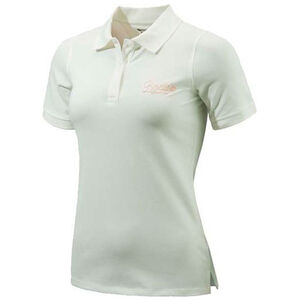 Beretta Special Purchase Women's Corporate Polo Short Sleeve XL Cotton White