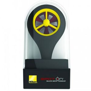 Nikon Spot On Wind Meter For Use With Nikon Spot On App iPhone/Android Compatible Plastic Black 16144