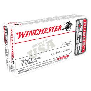 Winchester 350 LEGEND Ammunition 20 Rounds FMJ USA 145 Grains