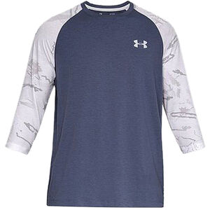 Under Armour Ridge Reaper Men's 3/4 Long Sleeve Hunting Shirt Charged Cotton Polyester and Elastane Moisture Wicking