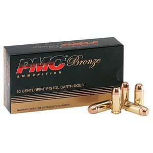 PMC Bronze .44 Special Ammunition, 25 Rounds, 180 Grain JHP, 980 fps