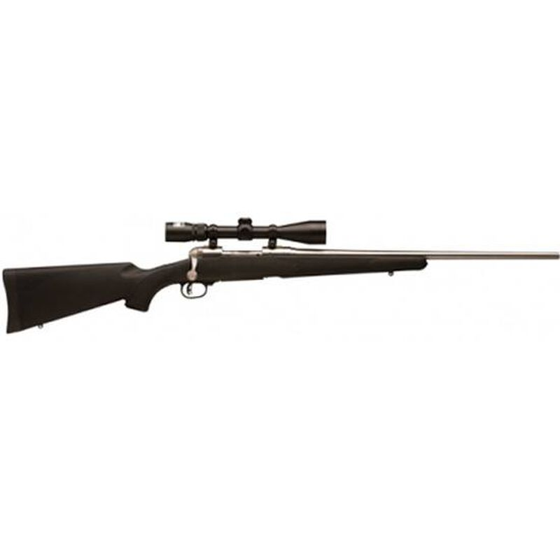 """Savage 16 Trophy Hunter XP Bolt Action Rifle .300 WSM 24"""" Barrel 2 Rounds Synthetic Stock Stainless Finish Nikon 3-9x40 Scope 19729"""