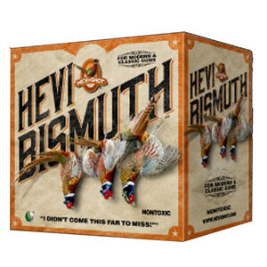 "Hevi-Shot Hevi Bismuth Upland Ammunition 20 Gauge 25 Rounds 2-3/4"" #5 Hevi-Bismuth Shot 1300 fps"