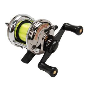 Lew's Mr. Crappie Slab Shaker Reel Metal 3.2 Ounces Silver  SS1