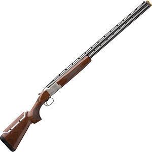 "Browning Citori CX White Adjustable 12 Gauge O/U Break Action Shotgun 30"" Vent Rib Barrels 3"" Chamber 2 Rounds Walnut Stock with Adjustable Comb Silver Receiver with Blued Barrel Finish"