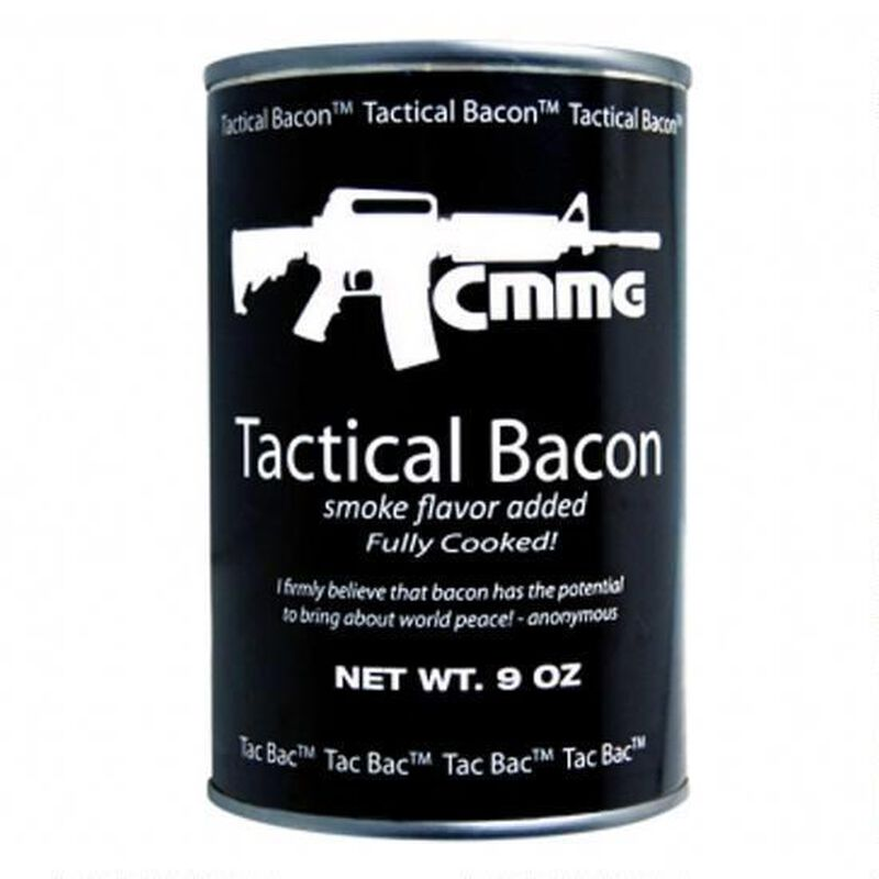 CMMG Tactical Bacon 9 Ounce Can 10 Year Shelf Life 13401AB