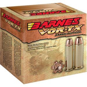 Barnes VOR-TX .454 Casull Ammunition 20 Rounds 250 Grain Lead Free XPB Bullet 1700 fps