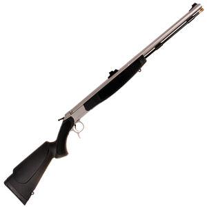 "CVA Optima V2 Break Action Black Powder Rifle .50 Caliber 26"" Stainless Steel Barrel FO Sights Black Synthetic Stock"