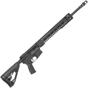 "Radical Firearms AR-15 Semi Auto Rifle .450 Bushmaster 7 Rounds 20"" HBAR Barrel 15"" Free Float MHR Handguard Collapsible Stock Black"