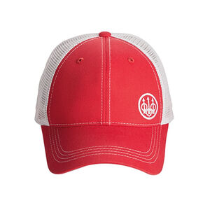 Beretta Trident Trucker Hat Cotton/Mesh Adjustable Fit Black/Grey