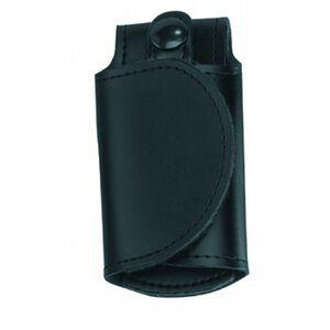 """Gould & Goodrich H598CL Silent Key Holder Fits 2.25"""" Belts Adjustable Hook & Loop Closure Hi-Gloss Finish Black"""