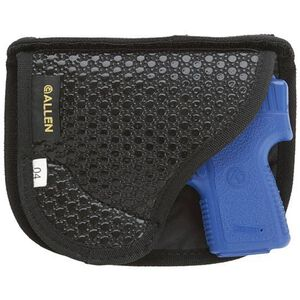 Allen Baseline Pocket Holster Subcompact Autos Ambidextrous Wallet Profile Black 44204