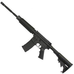 "ArmaLite Defender 15 AR-15 Semi Auto Rifle .223 Rem/5.56 NATO 16"" Barrel 30 Rounds Polymer Hand Guard Railed Gas Block Flash Suppressor Collapsible Stock Black DEF15"