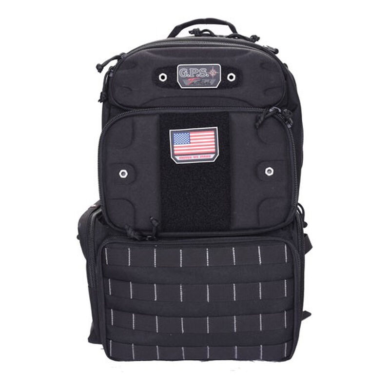 "G. Outdoors G.P.S. Tactical Range Backpack ""Tall"" Black"