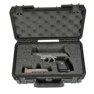 "SKB Products iSeries 1006 Custom Single Pistol Case 10.75""x6.13""x3.25"" Black 3I-1006-SP"