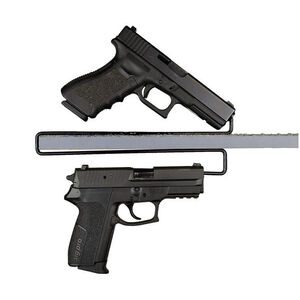 Gun Storage Solutions Over-Under Handgun Hanger 2 Pack