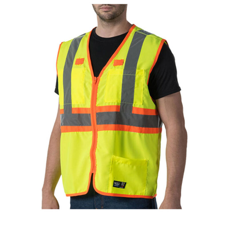 Dickies High Visibility ANSI Class 2 Solid Vest 2  Extra Large ANSI Yellow W38230VY9
