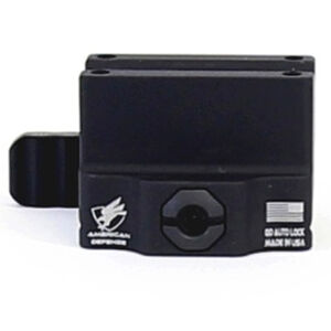 American Defense MFG Trijicon MRO Mount Lower 1/3 Co-Witness QD Lever Aluminum Matte Black