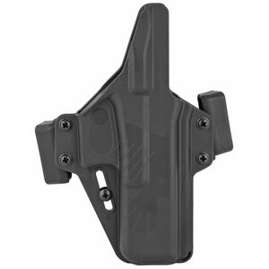 Raven Concealment Systems Perun OWB Holster For GLOCK 17/22/31 Ambidextrous Draw Matte Black Finish