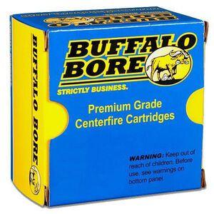 Buffalo Bore .380 ACP +P Ammunition 20 Rounds 95 Grain Full Metal Jacket-Flat Nose
