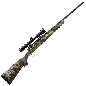 "Savage Axis XP Camo Bolt Action Rifle .25-06 Remington 22"" Barrel 4 Rounds Detachable Box Magazine Weaver 3-9x40 Riflescope Synthetic Stock Mossy Oak Break Up Country Finish"