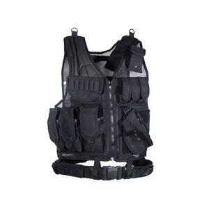 LeapersUTG Sportsman Tactical Scenario Vest Black