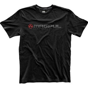 Magpul Fine Cotton Unfair Advantage T-Shirt Size Large Matte Black MAG745-001-L