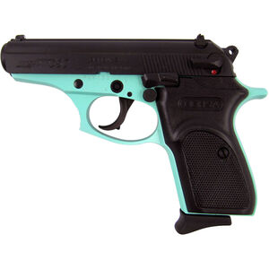 "Bersa Thunder 380 Blue Semi Auto Pistol .380 ACP 3.5"" Barrel 8 Rounds Synthetic Grips Duotone Blue/Black Finish"