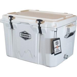 Cordova 50 Medium Cooler, 48 Quarts, White