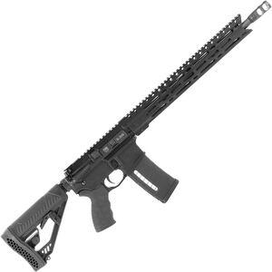 "Diamondback Firearms DB15EMLB AR-15 Semi Auto Rifle 5.56 NATO 30 Rounds 16"" Barrel M-LOK Handguard Collapsible Stock Black"