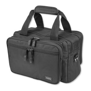 "Uncle Mike's Side Armor Soft Range Bag 17""x9""x5"" 1680 Denier Nylon Black 5341-1"