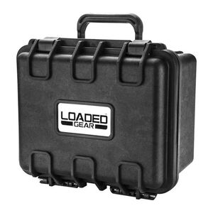 "Barska Loaded Gear HD-150 9.56"" x 7.16"" Hard Case Polypropylene Black"