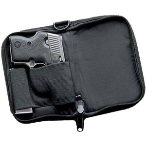 """DeSantis Gunhide """"Pistol Pack"""" Kel-Tec P32, P3AT, Ruger LCP, North American Arms Guardian, Walther TPH, Taurus TCP Discreet Carry Case Right Hand Ballistic Nylon Black N65BA92Z0"""