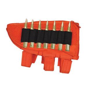 Fox Outdoor Rifle Butt Stock Cheek Rest Left Hand Safety Orange 55-472