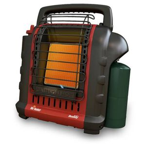 Portable Buddy Heater Propane Heats 200 Sq. Ft. High & Low Settings Indoor & Outdoor