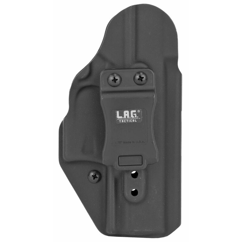 LAG Tactical Liberator MK II Series OWB/IWB Holster for Walther PPQ M2 Models Ambidextrous Draw Kydex Construction Matte Black Finish