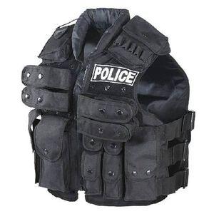 Voodoo Police Vest Black 20-8403001