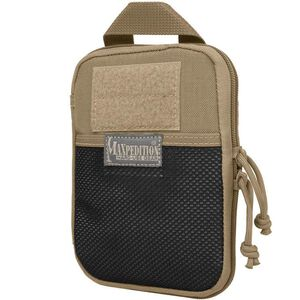 "MAXPEDITION E.D.C. Pocket Organizer 5""x7""x0.75"" 1050 Denier Coyote"
