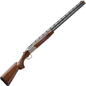 "Browning Citori CX White 12 Gauge O/U Break Action Shotgun 32"" Vent Rib Barrels 3"" Chamber 2 Rounds Walnut Stock Silver Receiver with Blued Barrel Finish"