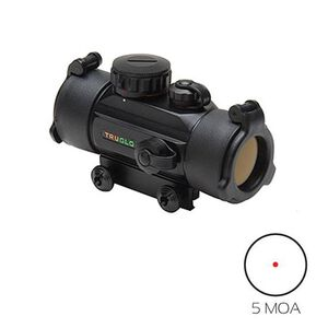 TRUGLO Red Dot Sight 30mm 5 MOA Dot Matte Black TG8030B