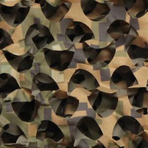 "Camo Unlimited Specialist Series Ultra Lite Camo Netting 3-D Leaf 7'10""x85yds Ripstop Woodland"