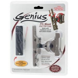 CuddleBack Genius Pan Tilt Lock Mount 3 Axis Universal Adaptor Metal Brown Finish