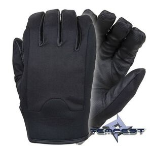 Damascus Gear Temptes Advanced All-Weather Gloves w/GripSkin Large Black
