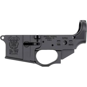 Spike's Tactical Viking AR-15 Stripped Lower Receiver Multi Caliber Marked Aluminum Black